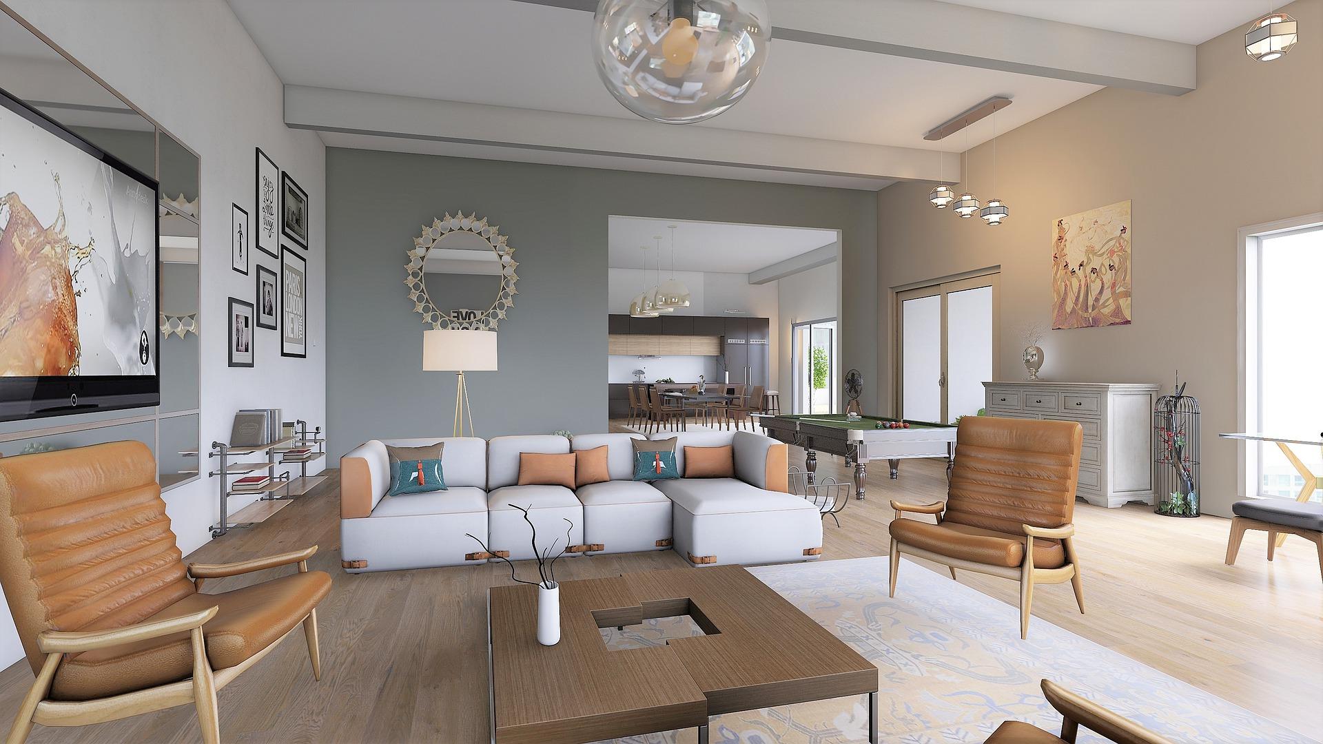 Moderní bydlení interiér