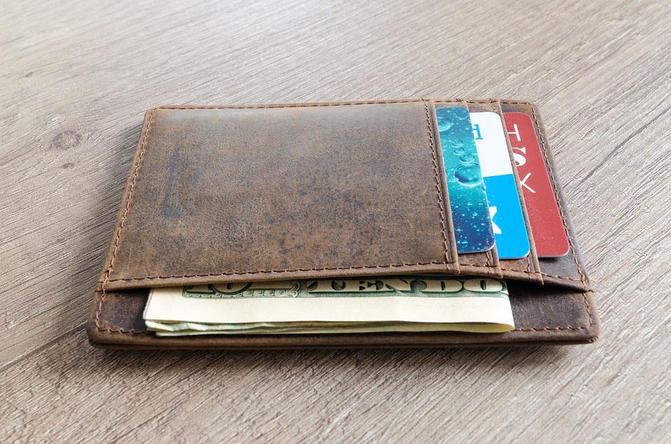 peněžeka s dolary